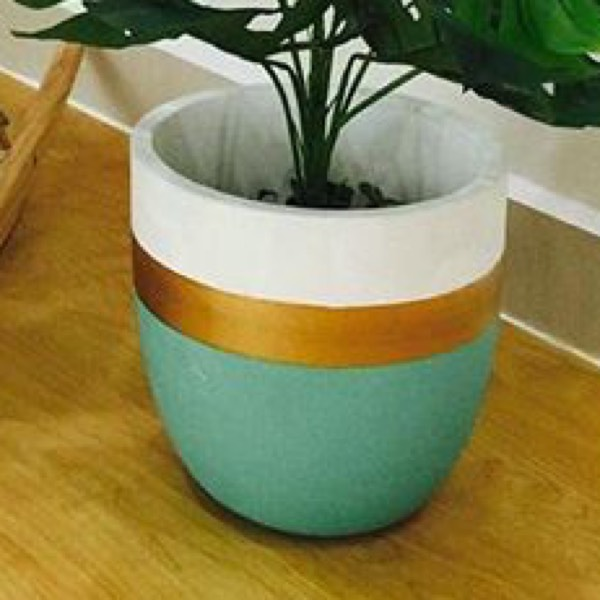Vase - Concrete Turqoise0