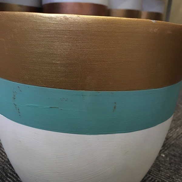 Vase - Concrete Turqoise 10