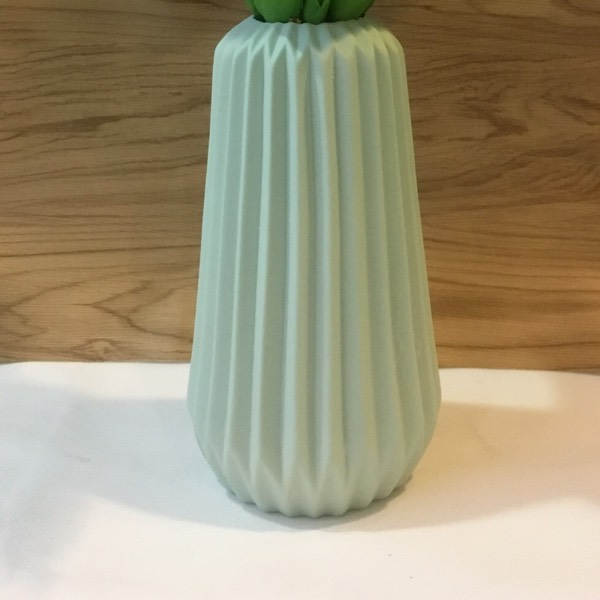 Vase - Scandi Light Green0