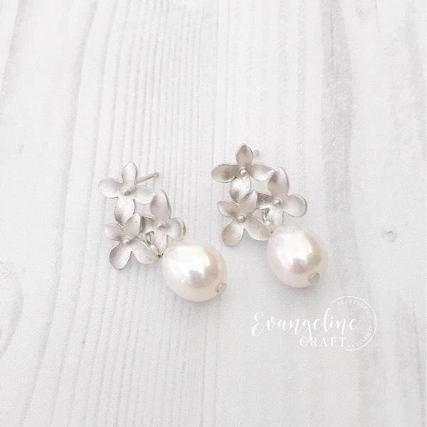 Cherry Blossom Freshwater Pearl Earrings ER202060