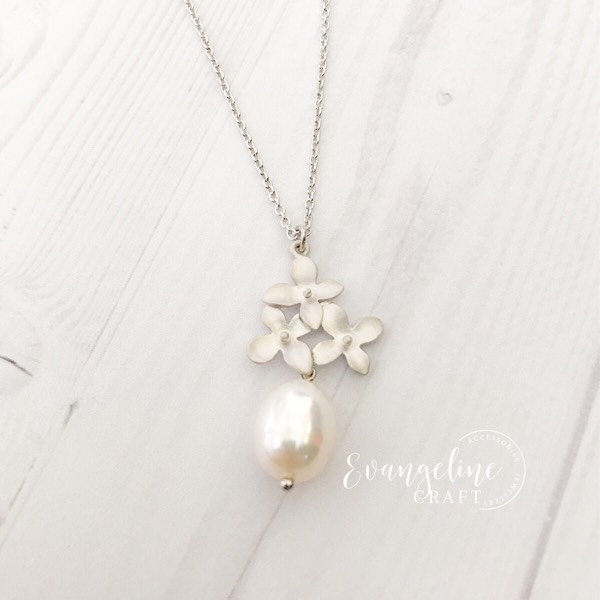 Cherry Blossom Freshwater Pearl Necklace NL2017070