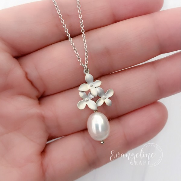 Cherry Blossom Freshwater Pearl Necklace NL2017071