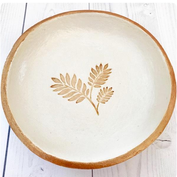 Leaves Trinket Dish 1