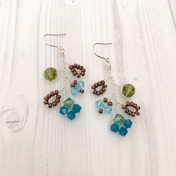 Spring Garden Earrings 1