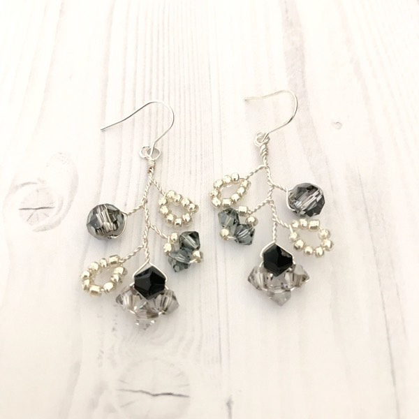 Winter Garden Earrings 1