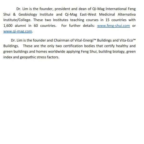 FENG SHUI & YOUR HEALTH4