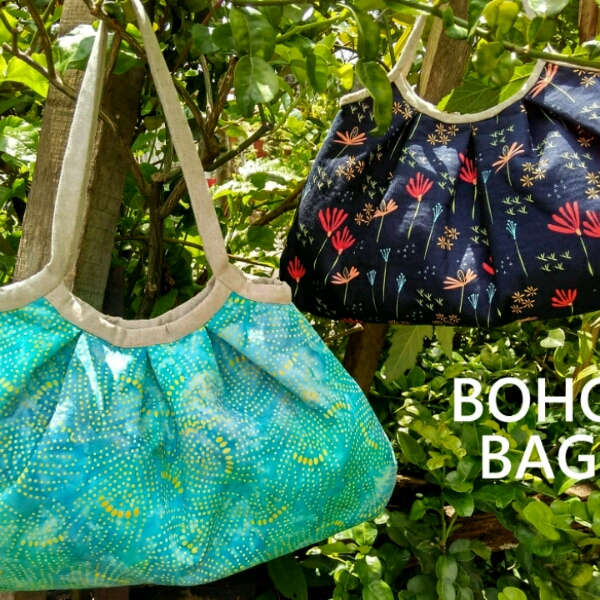 Boho Bag - Intermediate Sewing Workshop