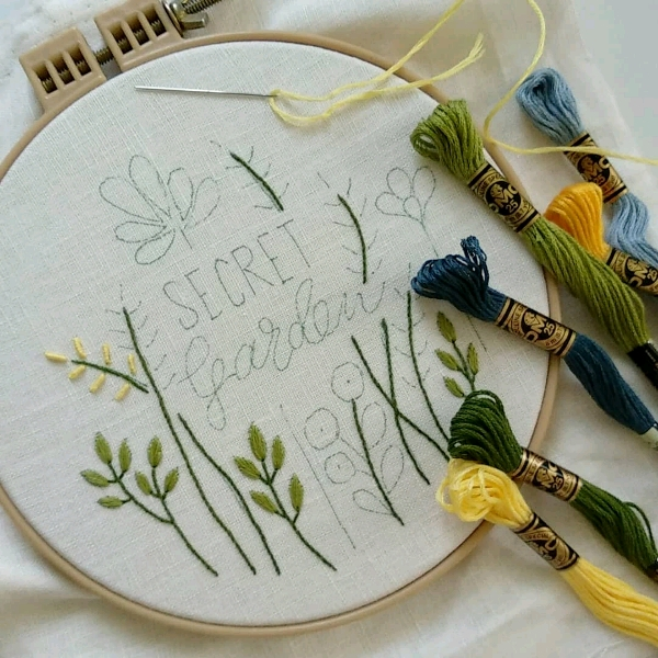 Classic Hand Embroidery - Beginner1