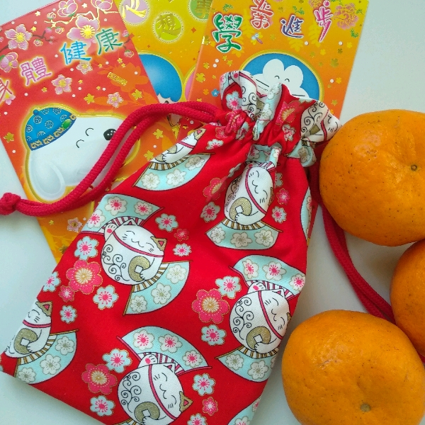 Drawstring Pouch - Sewing (Beginner)1