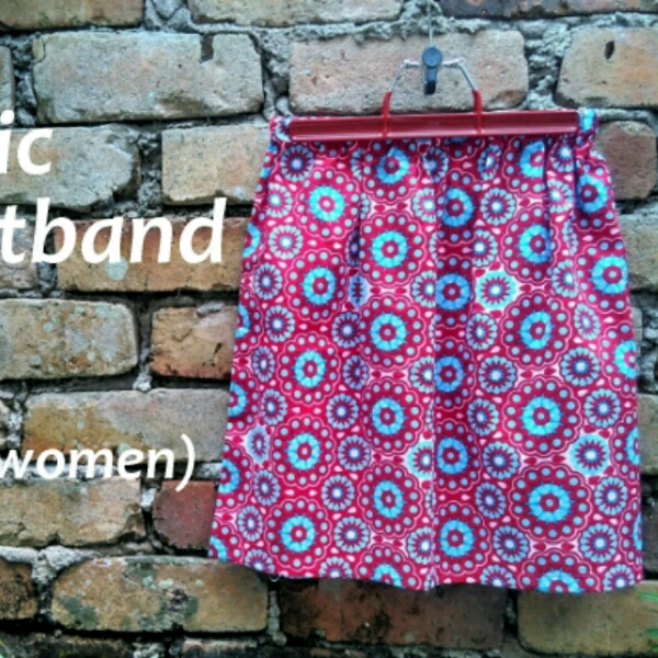 Elastic Waistband Skirt - Beginner0
