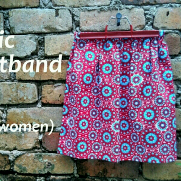 Elastic Waistband Skirt - Beginner Sewing Workshop0