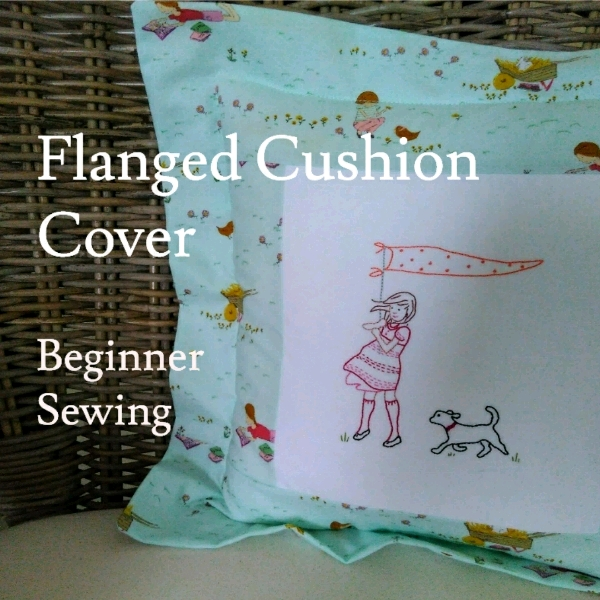 Flanged Cushion Cover - Beginner Sewing Workshop0