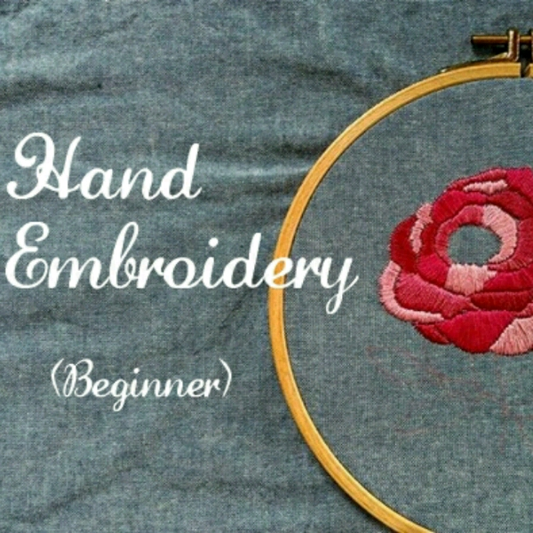 Hand Embroidery - Beginner0