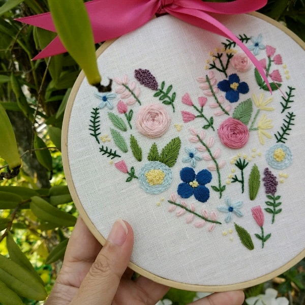 Hand Embroidery - Beginner2
