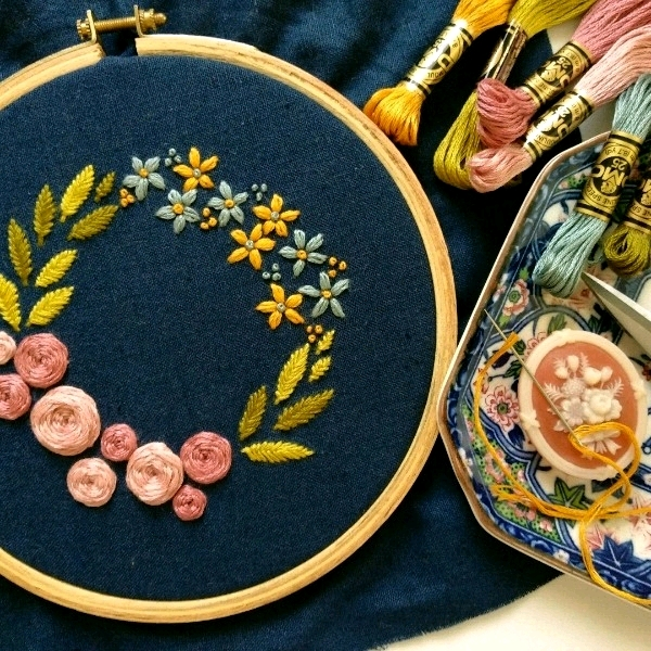 17/6 Hand Embroidery - Beginner0