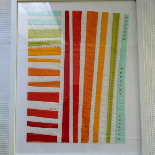 Improv Quilt Art - Beginner