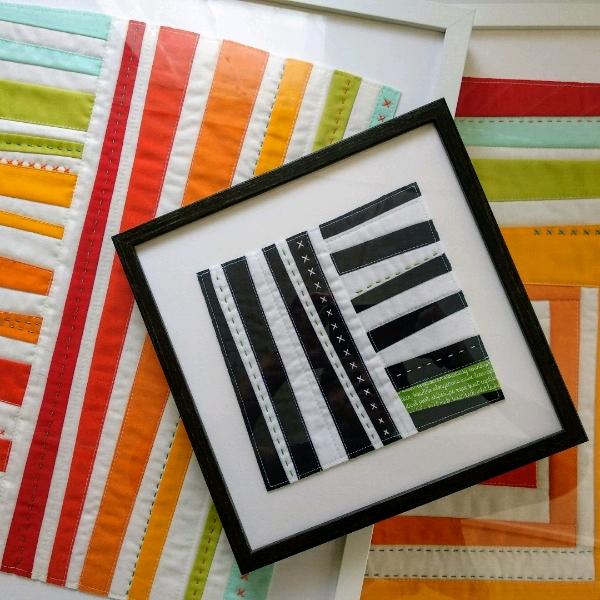 Improv Quilt Art - Beginner2