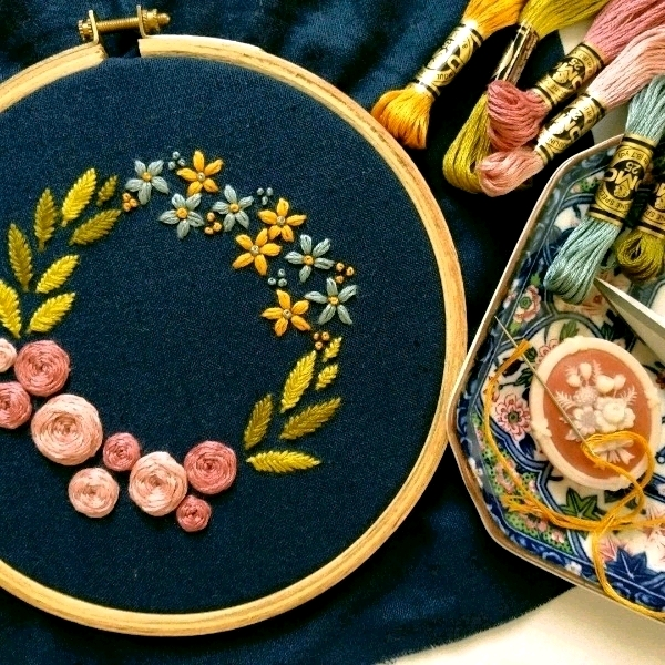 Malacca - Modern Hand Embroidery - Beginner