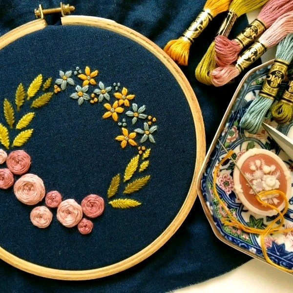 Modern Hand Embroidery - 25/8 Beginner0