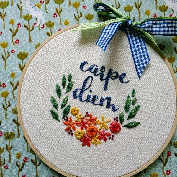 Modern Hand Embroidery - 25/8 Beginner2