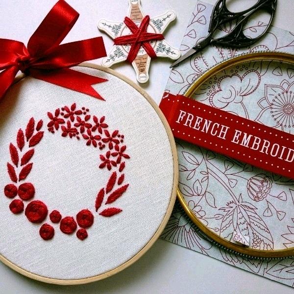 Modern Hand Embroidery - 5/8  Beginner1