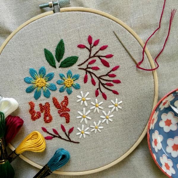 Oriental Odyssey Hand Embroidery Pattern (Digital)2