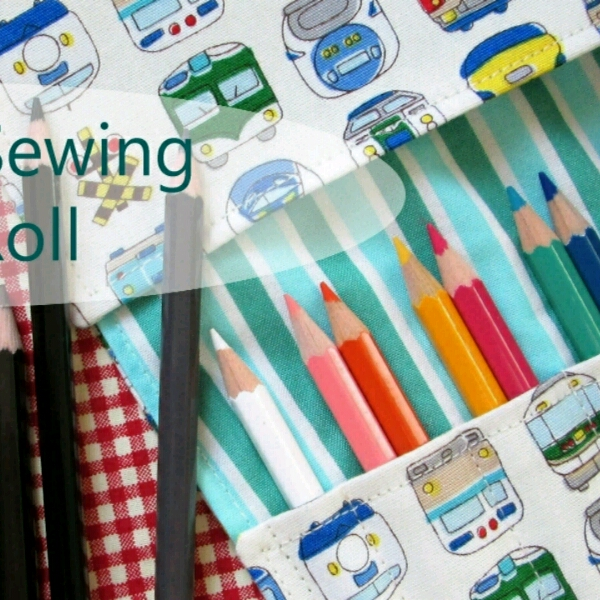 Pencil Roll - Beginner Sewing Workshop