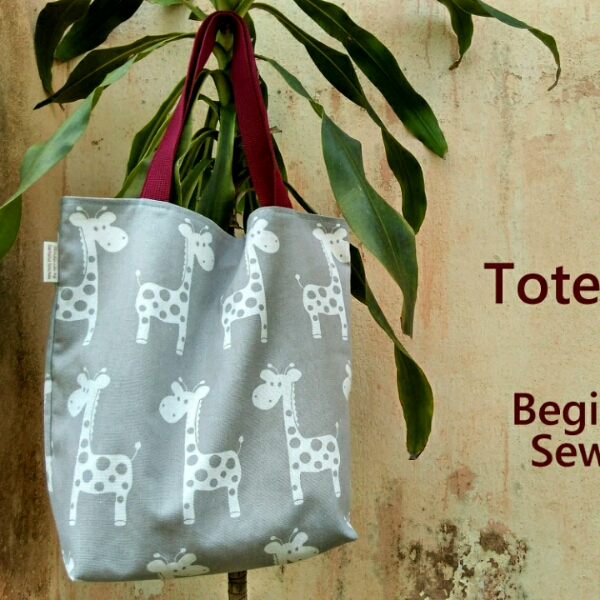 Tote Bag - Sewing (Beginner)