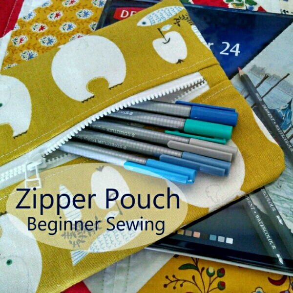 Zipper Pouch - Beginner Sewing Workshop0