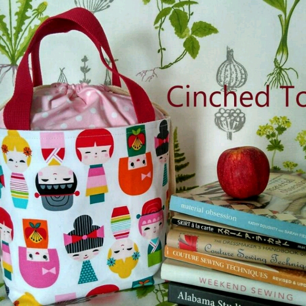 Zipper Pouch & Cinched Tote - Sewing Workshop1