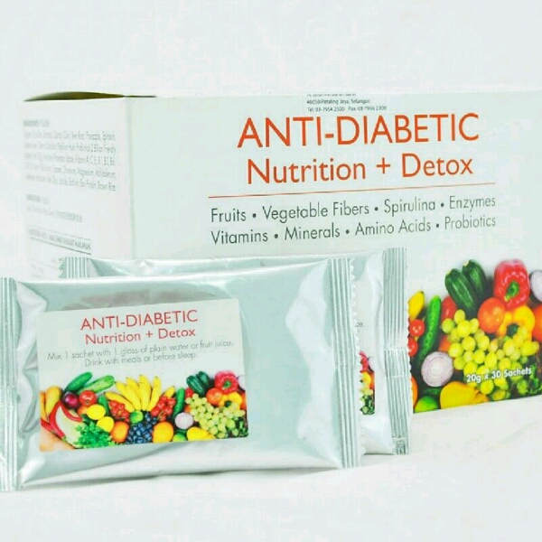 Anti Diabetic & Nutrition + Detox0