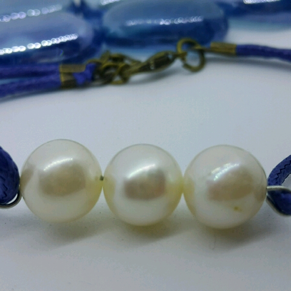 100% High Quality Sea Water Pearl Simple Bracelet4