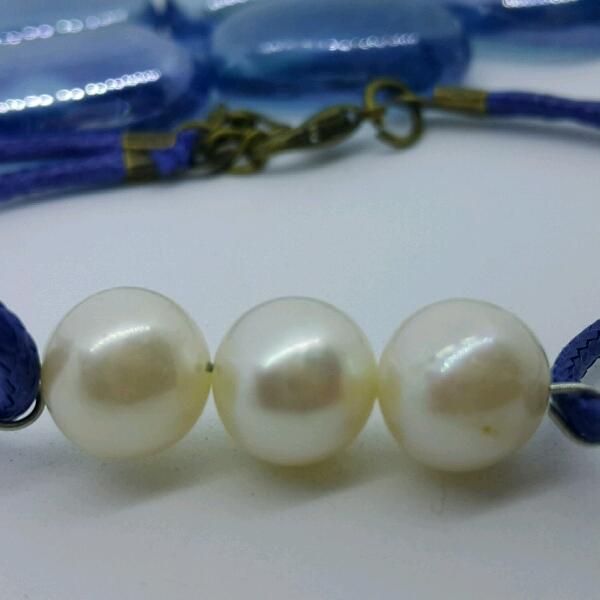 100% High Quality Sea Water Pearl Simple Bracelet4