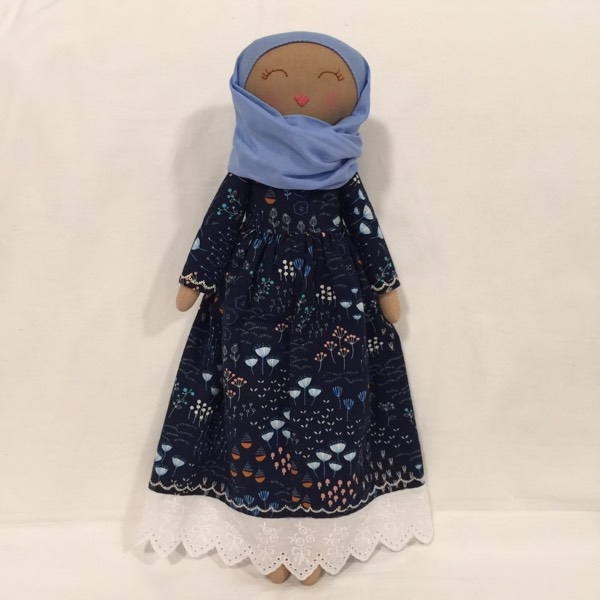 Sofia Handmade Heirloom Hijab Doll0