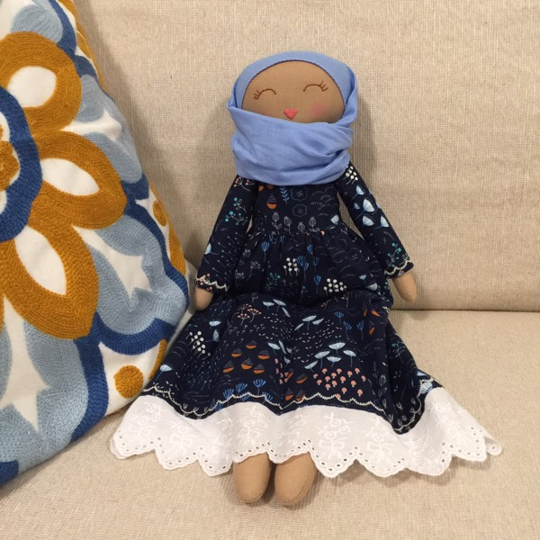 Sofia Handmade Heirloom Hijab Doll4