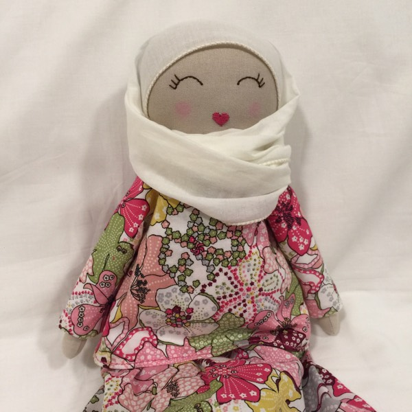 Sofia Handmade Heirloom Hijab Doll1