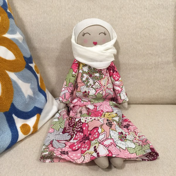 Sofia Handmade Heirloom Hijad Doll3