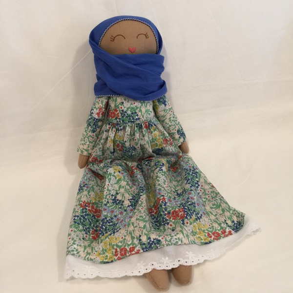 Sofia Handmade Heirloom Hijab Doll 1