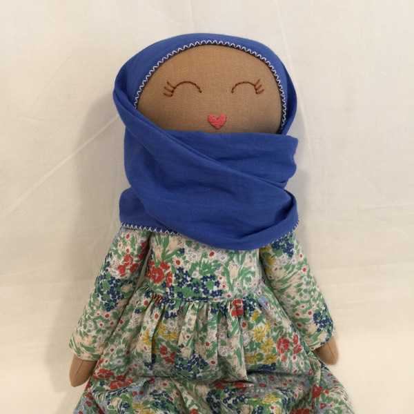 Sofia Handmade Heirloom Hijab Doll 2