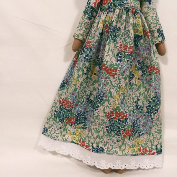 Sofia Handmade Heirloom Hijab Doll 3