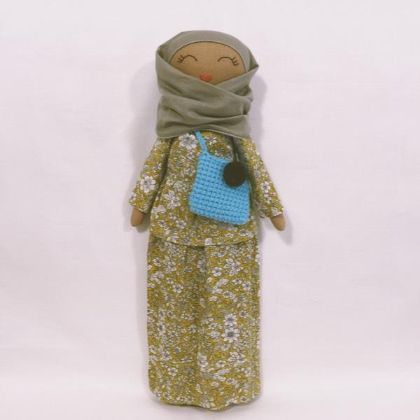 Sofia Handmade Heirloom Hijab Doll (Peplum)0
