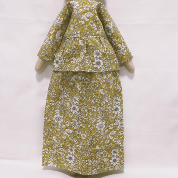 Sofia Handmade Heirloom Hijab Doll (Peplum)2