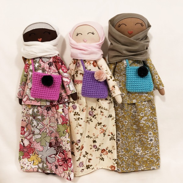Sofia Handmade Heirloom Hijab Doll (Peplum)4