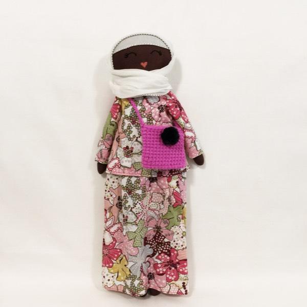 Sofia Handmade Heirloom Hijab Doll (Hitam Manis Edition)0