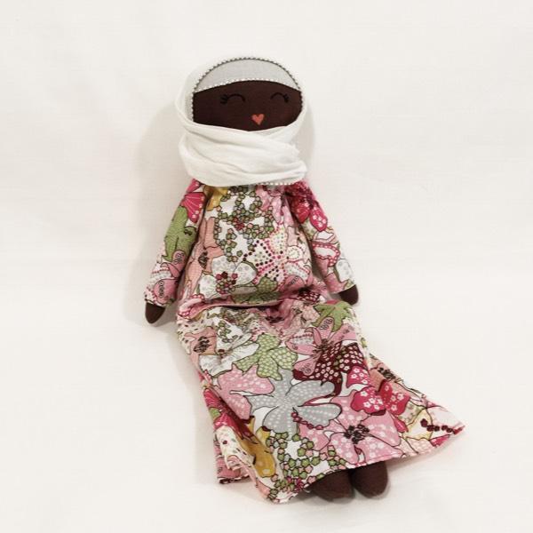 Sofia Handmade Heirloom Hijab Doll (Hitam Manis Edition)2