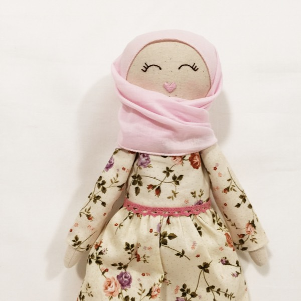 Sofia Handmade Heirloom Hijab Doll2