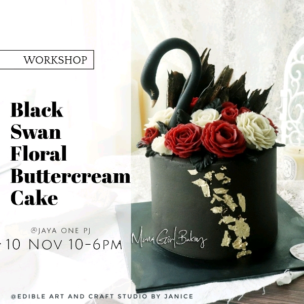 10 Nov_Black Swan Floral Buttercream Workshop