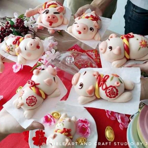 12/3 Piggie & Orange Mantoulicious Workshop0