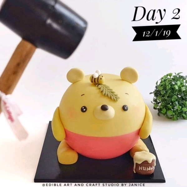 12 Jan_ Pooh Pinata Cake Workshop0