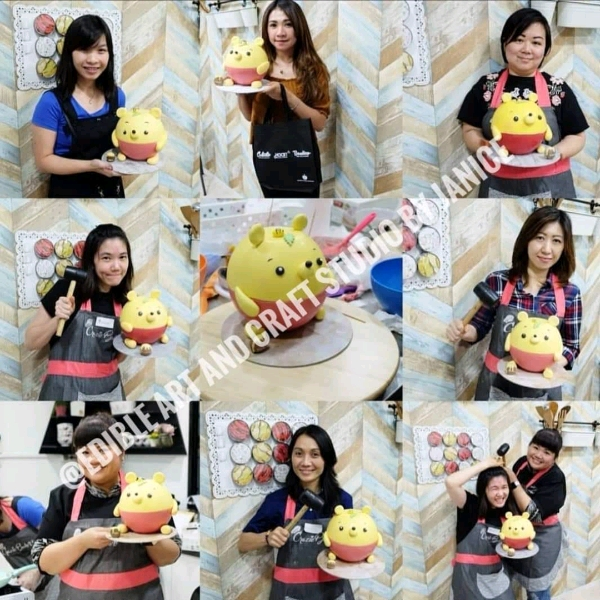 12 Jan_ Pooh Pinata Cake Workshop3